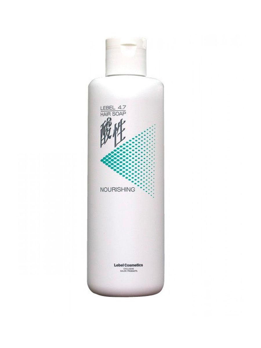 Шампунь для волос Жемчужный 4,7 Lebel Hair Nourishing Soap 400 мл