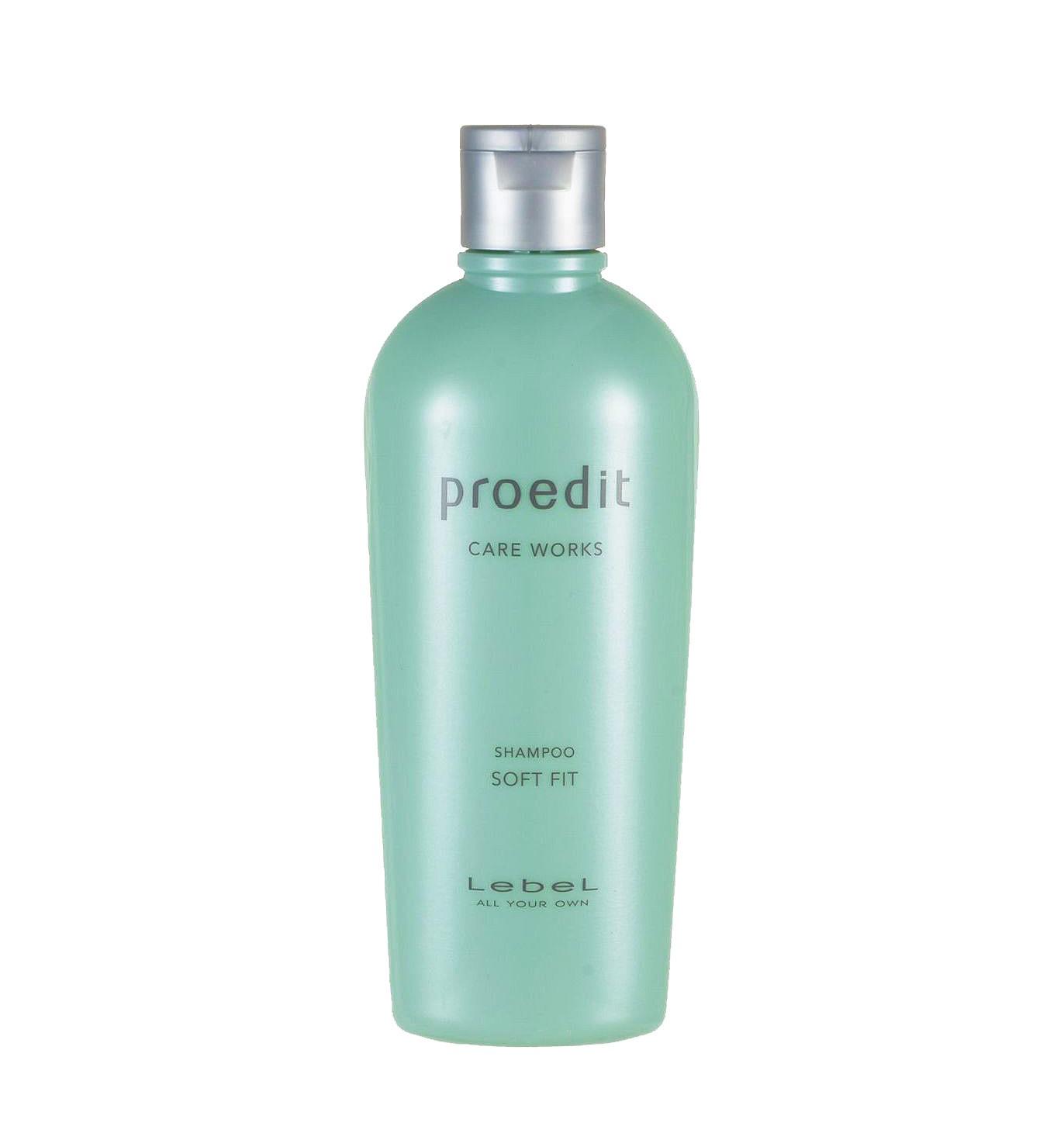 Шампунь для жестких и непослушных волос Lebel Proedit Soft Fit 300 мл