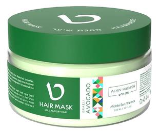 """Маска для увлажнения и блеска волос """"Israeli Avocado"""" Alan Hadash"""