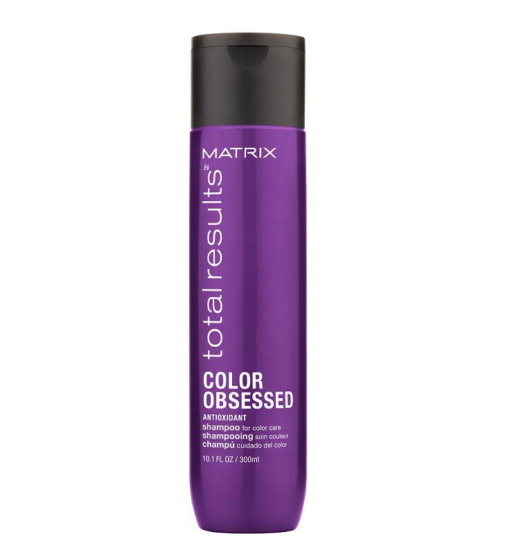 Шампунь для окрашенных волос с антиоксидантами Matrix Total Results Color Obsessed