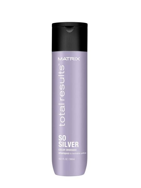 Шампунь для светлых и седых волос Matrix Total Results COLOR OBSESSED SO SILVER