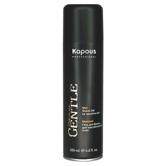Мужской гель для бритья с охлаждающим эффектом Kapous