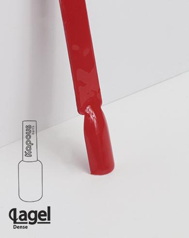 1819 Красный Феррари, гель-лак Kapous «Lagel Dense» 8 мл