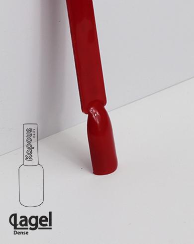 1820 Фактурный красный, гель-лак Kapous «Lagel Dense» 8 мл