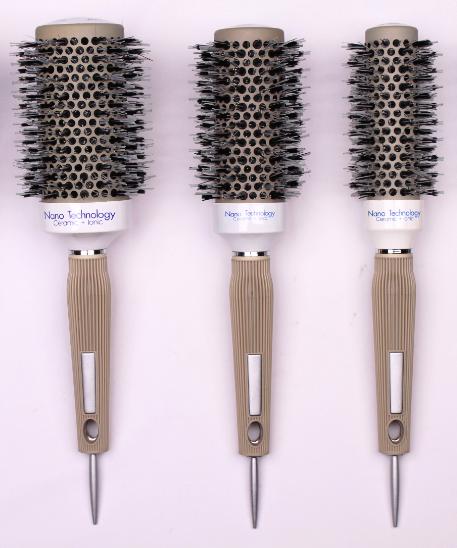 Термобрашинг ионо-керамический Nano Technology Ceramic Ionic комбинированный с натуральной щетиной