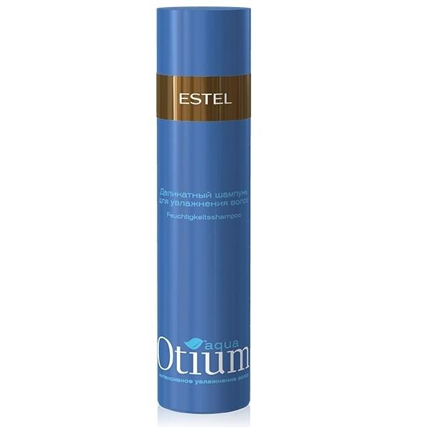 Деликатный шампунь для увлажнения волос Estel Otium Aqua