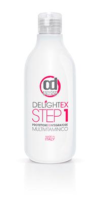 Мультивитаминная защита при осветлении и окрашивании волос DELIGHTEX STEP 1