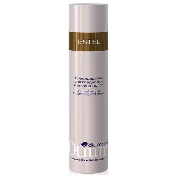 Блеск-шампунь для гладкости и блеска волос Estel Otium Diamond_1