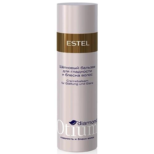 Шелковый бальзам для гладкости и блеска волос, Estel Otium Diamond_1