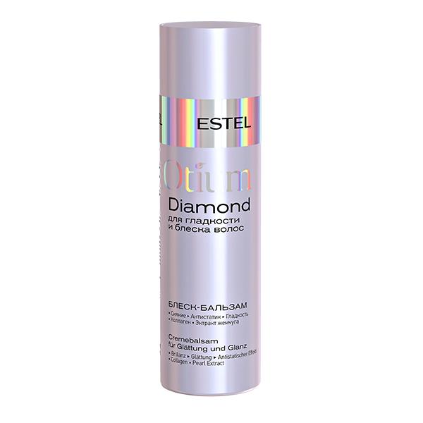 Шелковый бальзам для гладкости и блеска волос, Estel Otium Diamond