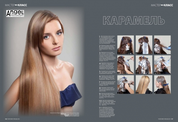 Крем-краска для волос Angel Professional Water Element Hair Color Cream