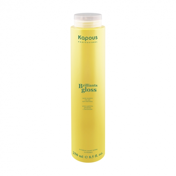 Блеск-шампунь для волос «Brilliants gloss» Kapous