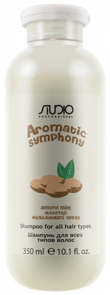 Шампунь для всех типов волос «Молочко миндального ореха» Kapous
