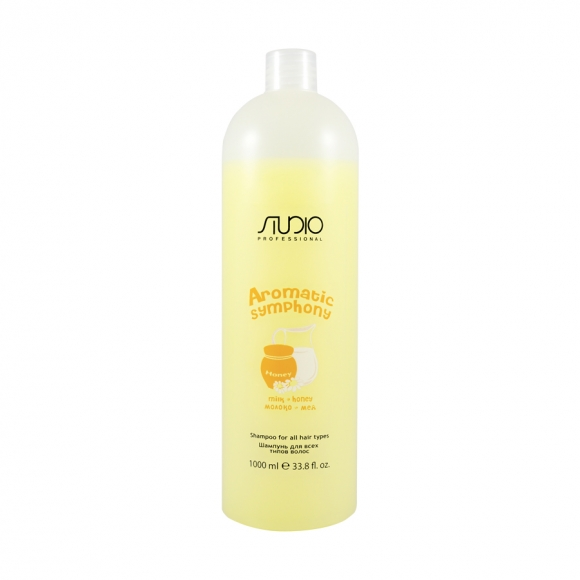 Шампунь для всех типов волос «Мед и молоко» Kapous