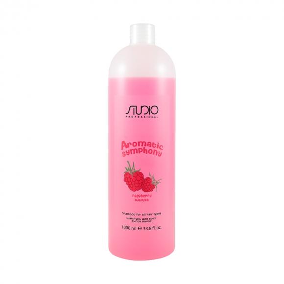 Шампунь для всех типов волос «Малина» Kapous