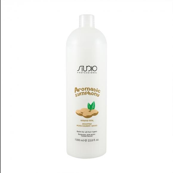 Бальзам для всех типов волос «Молочко миндального ореха» Kapous