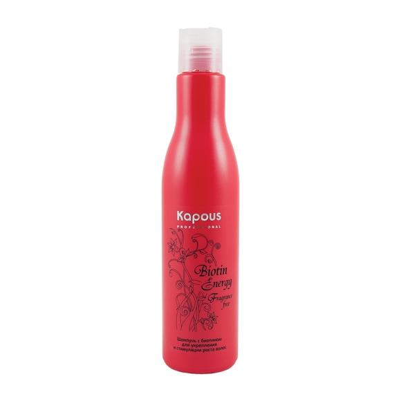 """Шампунь с биотином для укрепления и стимулирования роста волос """"Biotin Energy"""" Kapous"""