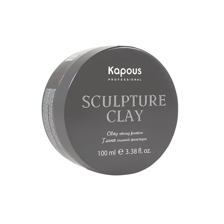 Глина для укладки волос нормальной фиксации «Sculpture Clay» Kapous