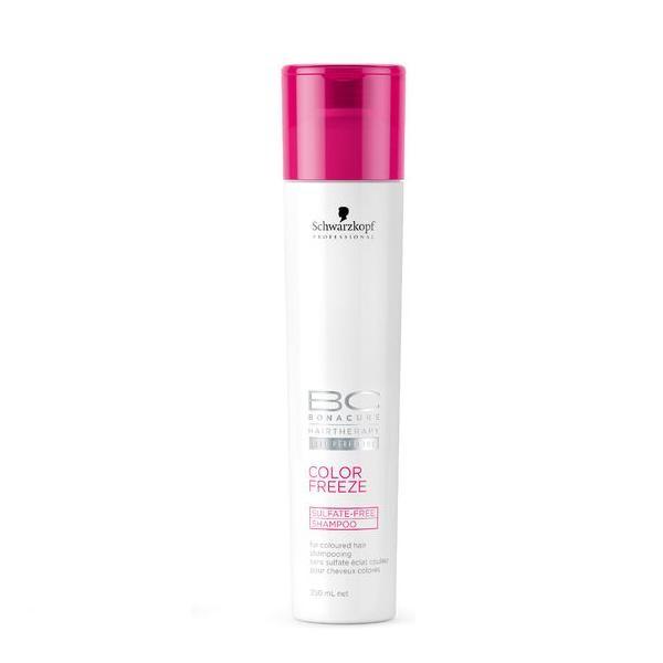 Безсульфатный шампунь для окрашенных волос Schwarzkopf BC Color Freeze Sulfate-Free