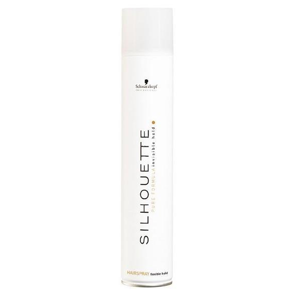 Лак для волос мягкой фиксации Schwarzkopf Silhouette Pure Hairspray Flexible Hold