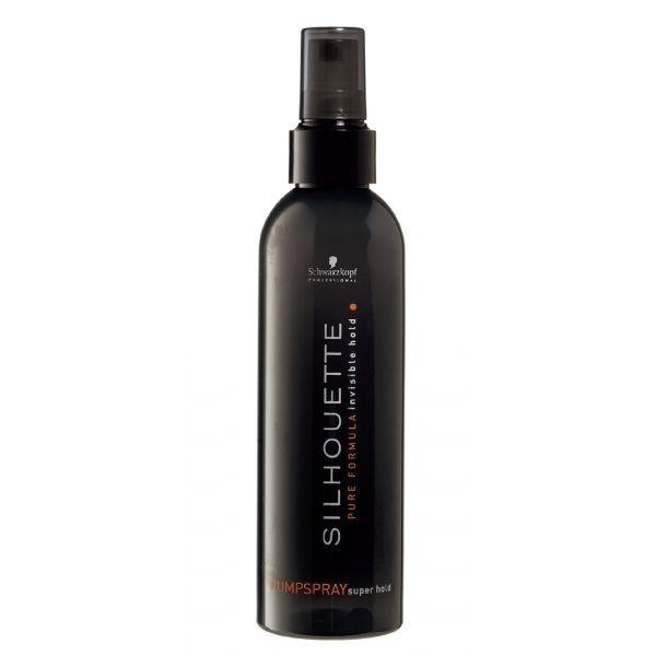 Безупречный спрей для волос ультрасильной фиксации Schwarzkopf Silhouette Pure Pumpspray Super Hold
