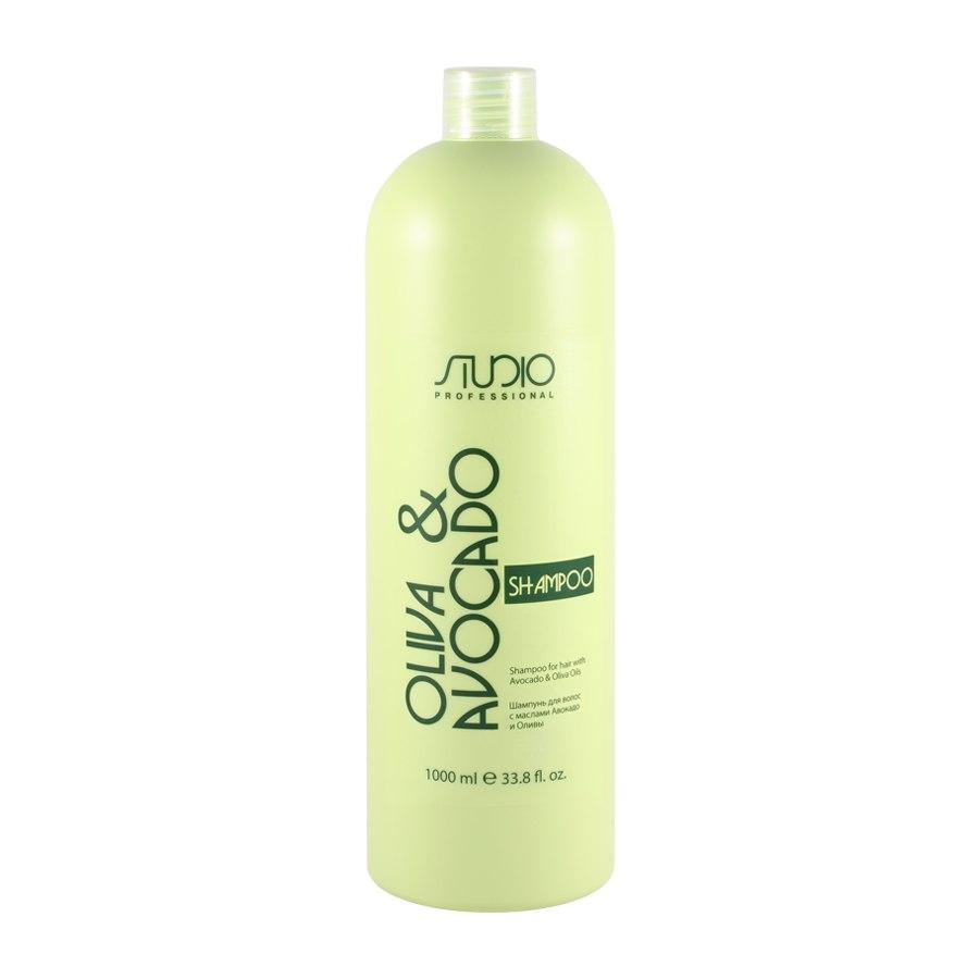Шампунь для волос с маслами Авокадо и Оливы Kapous