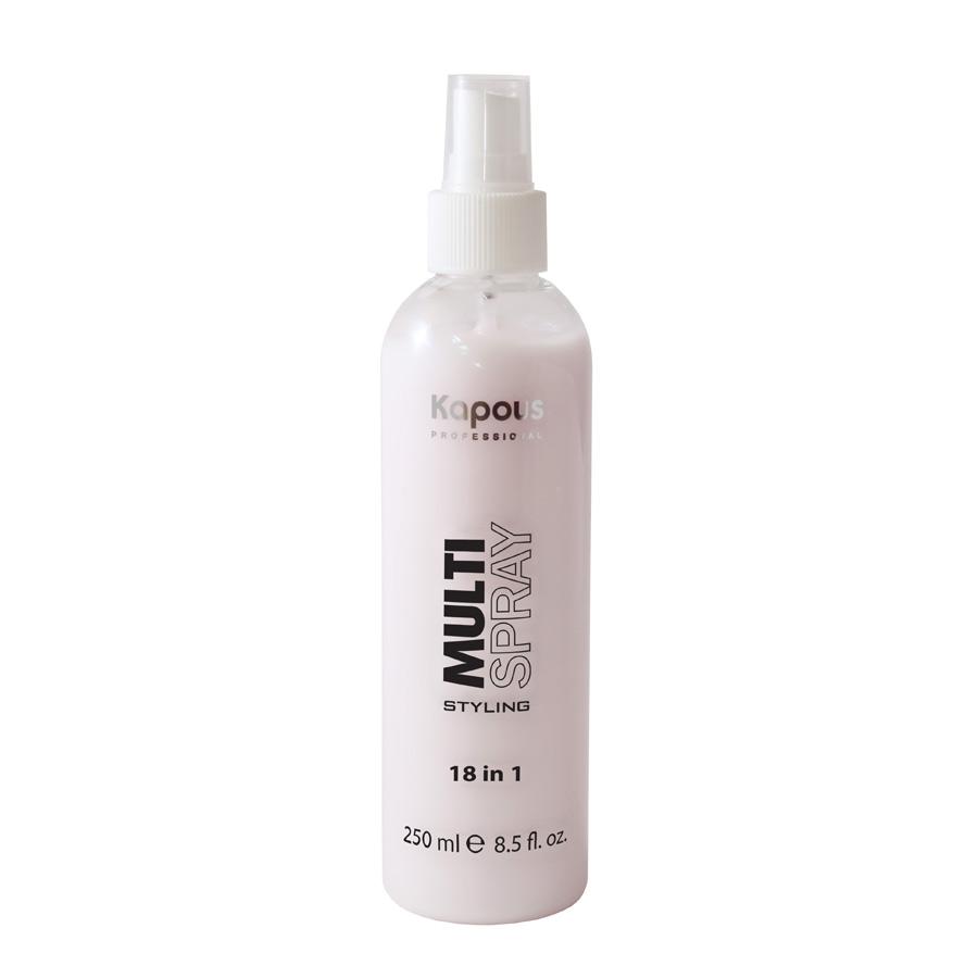 Мультиспрей для укладки волос 18 в 1 Kapous Multi Spray