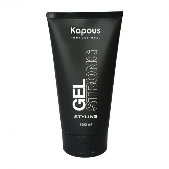 Гель для волос сильной фиксации Gel Strong  Kapous