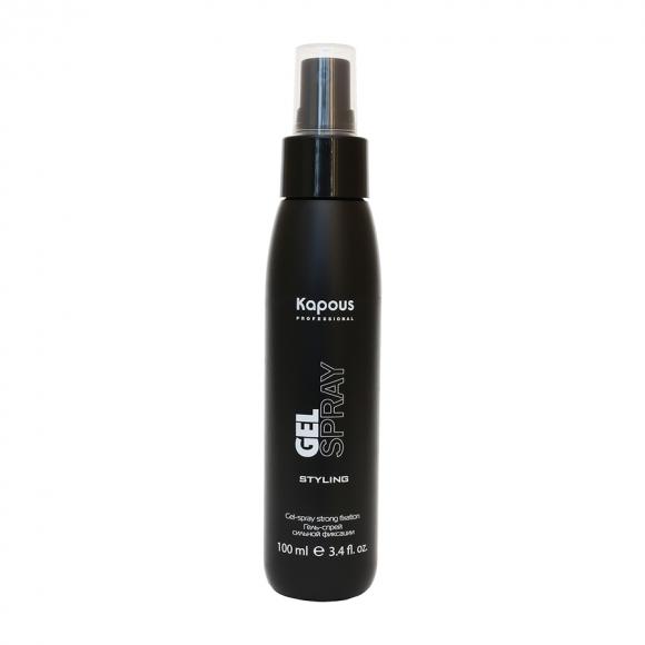 Гель-спрей для волос сильной фиксации Gel-spray Strong Kapous