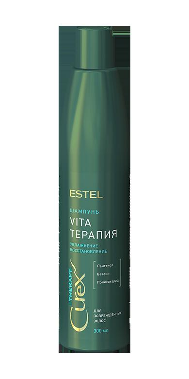 Шампунь для сухих, ослабленных и поврежденных волос Estel Curex
