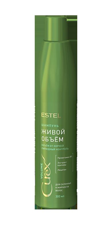 Шампунь Придание объема для жирных волос Estel Curex