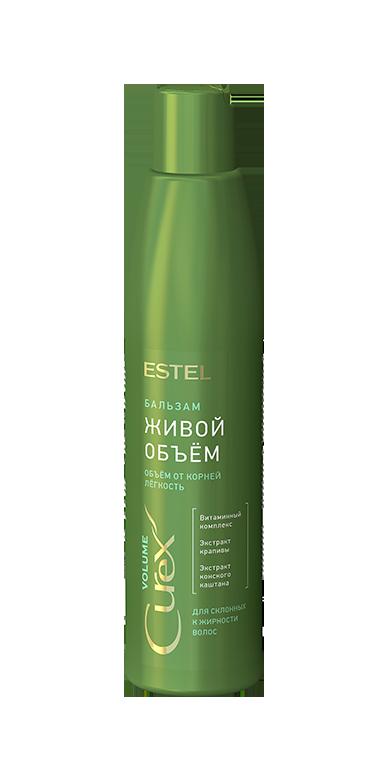 Бальзам Придание объема для жирных волос Estel Curex