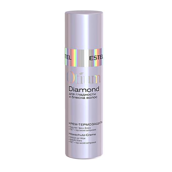 Крем-термозащита для гладкости и блеска волос Estel Otium Diamond