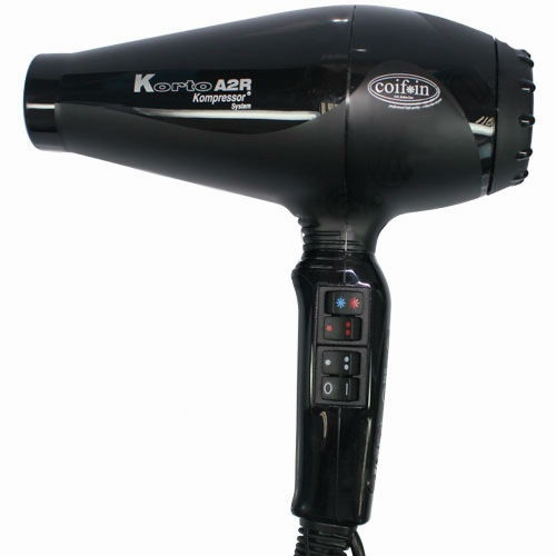 Профессиональный фен для волос COIFIN Korto A2R (черный)