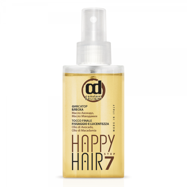 Фиксатор блеска Constant Delight Happy Hair Step 7