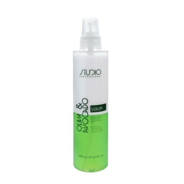Двухфазная сыворотка для волос с маслами Авокадо и Оливы Kapous