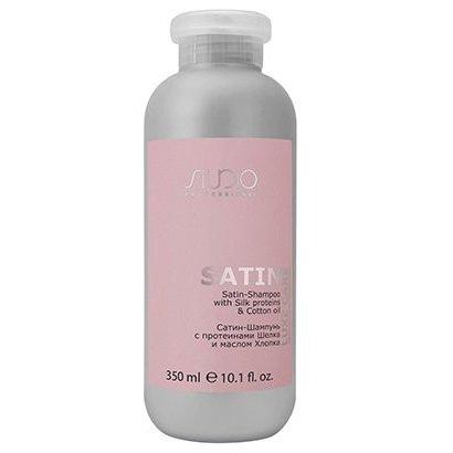 Сатин-Шампунь с протеинами шелка и маслом хлопка Luxe Care Kapous, 350 мл