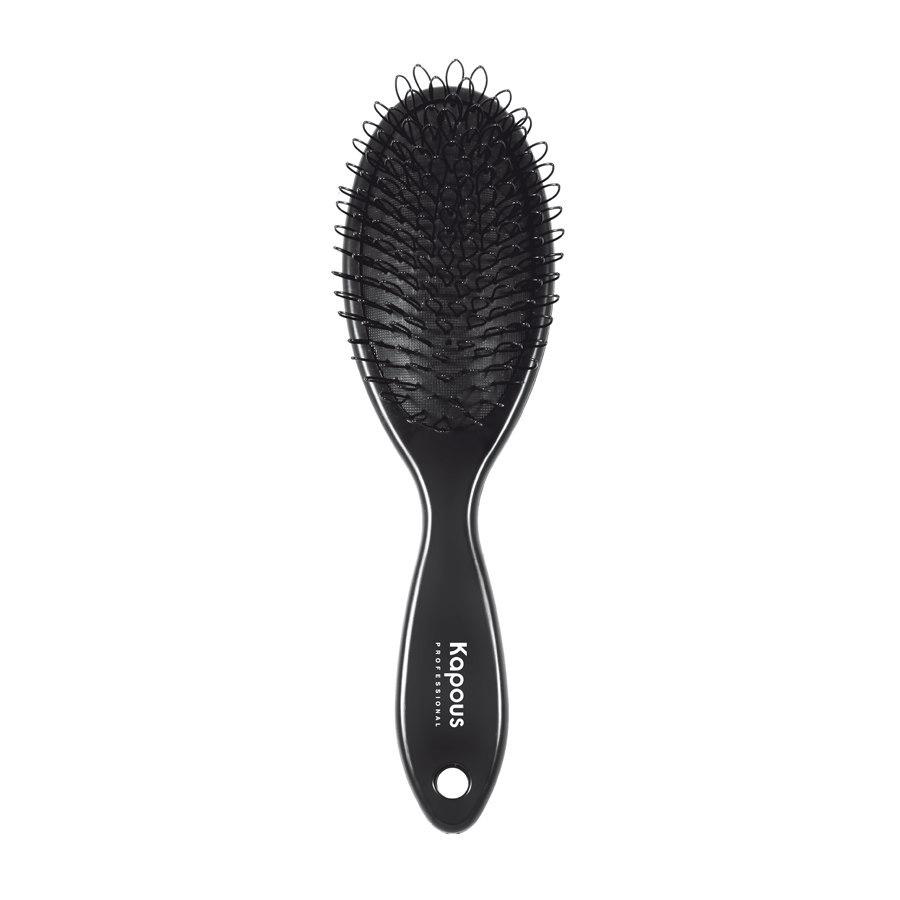 Щетка с петлями для наращенных волос Kapous