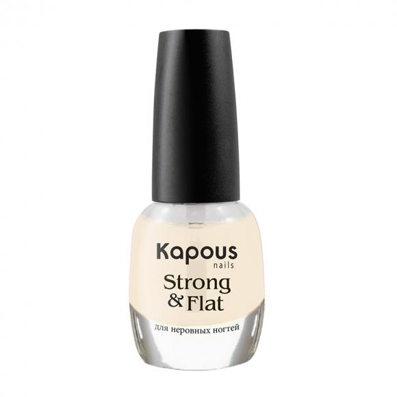 Укрепляющее базовое покрытие «Strong & Flat» Kapous, 12 мл