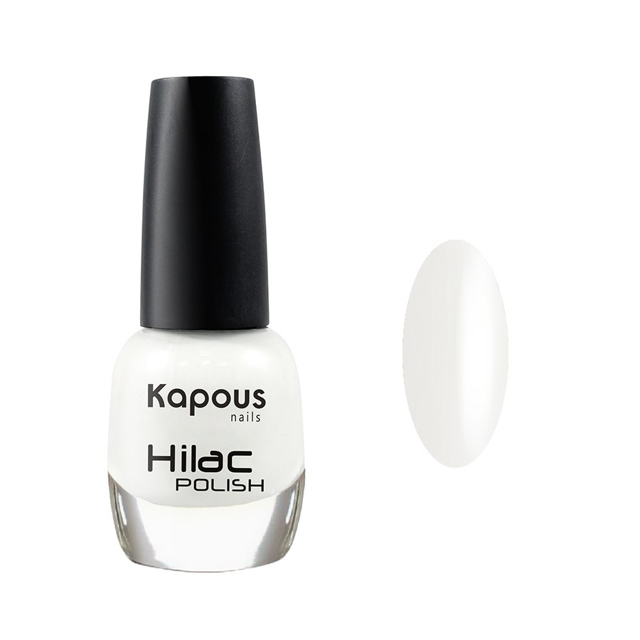 2053 белые ночи, лак для ногтей «Hilac» Kapous, 12 мл