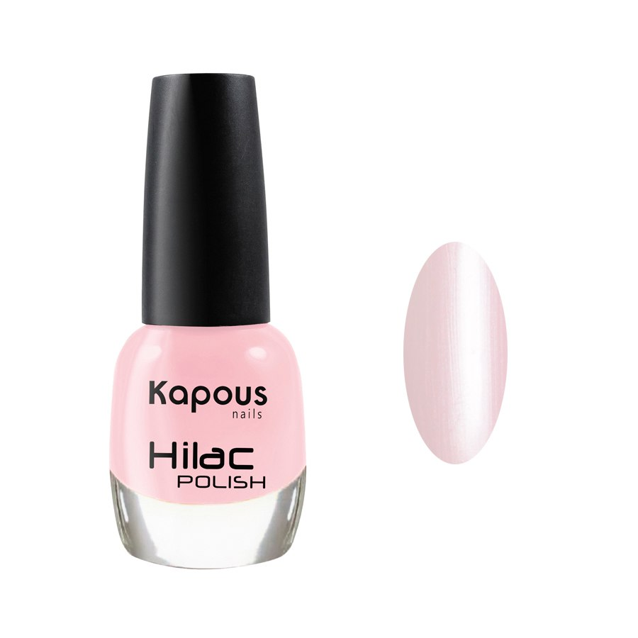 2074 клубничная панакота, лак для ногтей «Hilac» Kapous, 12 мл