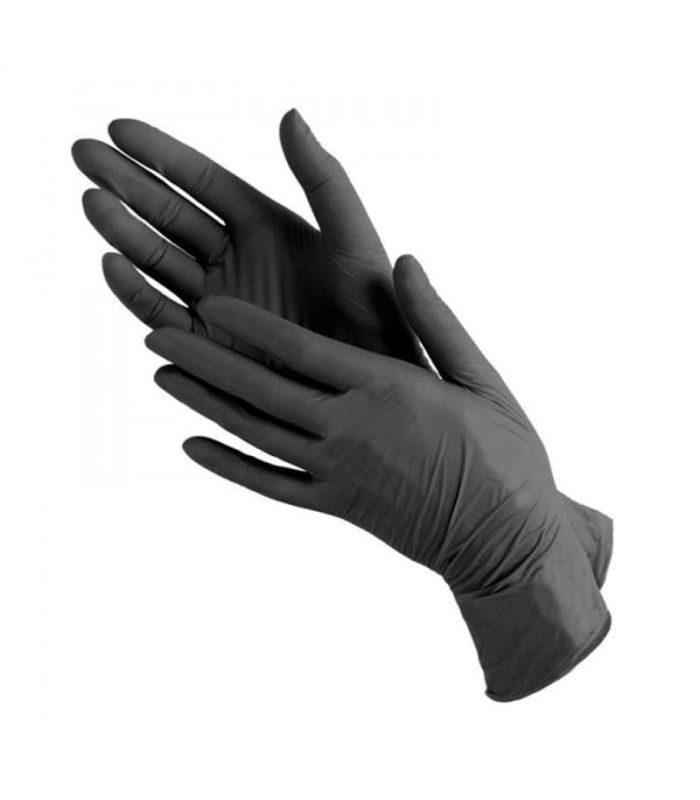Нитриловые перчатки неопудренные, нестерильные «Nitrile Hands Clean» Kapous